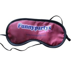 Augenmaske Funnypartys.com Augenbinde der Marke Funnypartys in purple Blindfold Schlafbrille