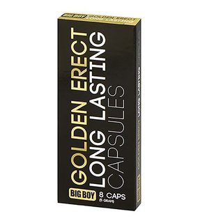 BIG BOY Golden Erect Long Lasting 8 Tabletten - für eine längere Erektion